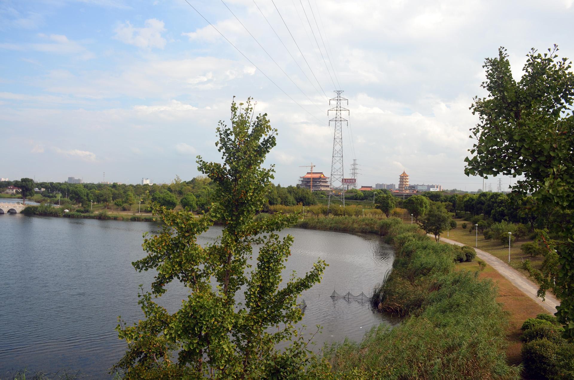娄东生态园太仓娄东商务休闲垂钓中心风景秀丽 这里是太仓 摄影 第2张
