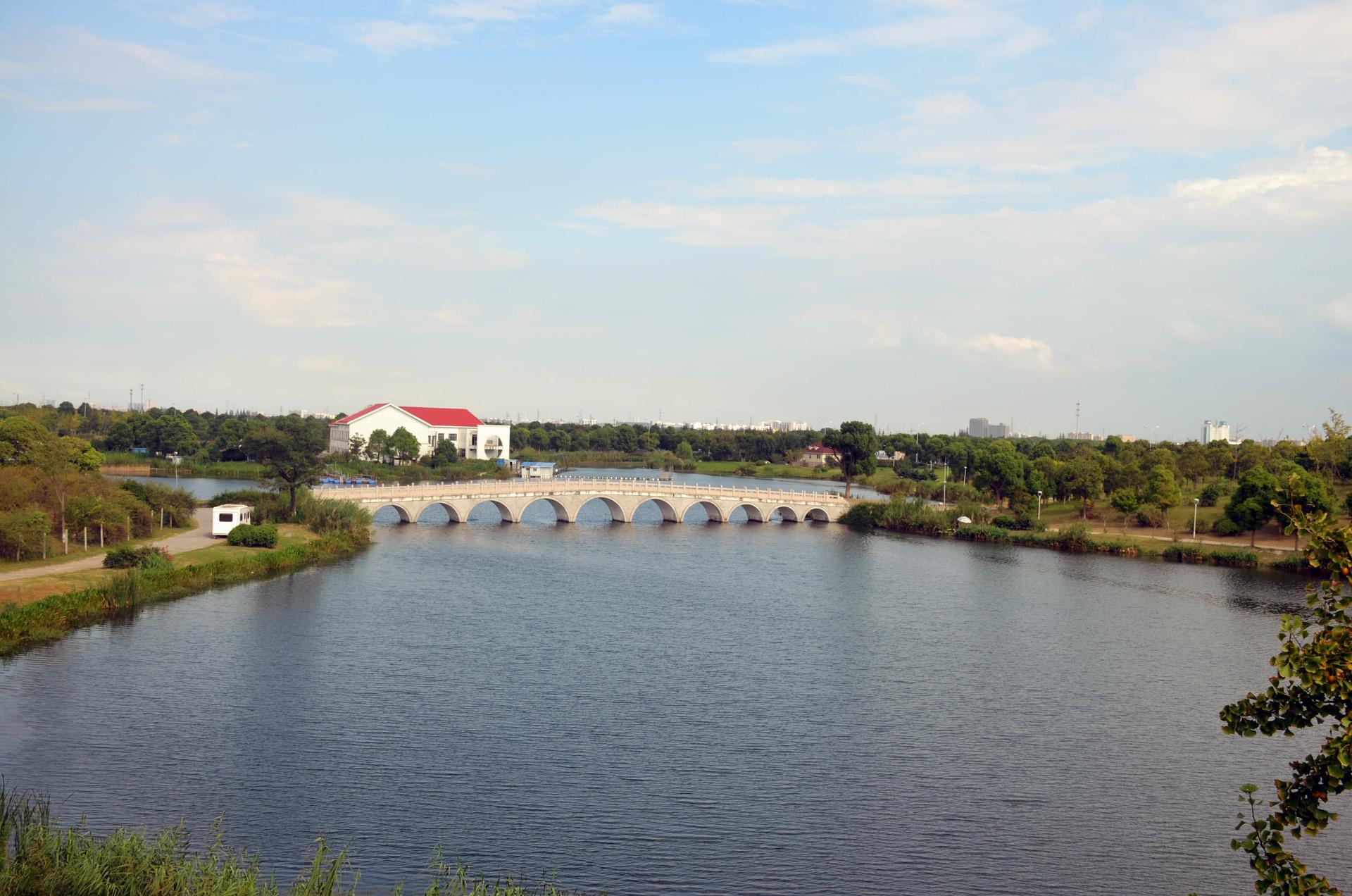娄东生态园太仓娄东商务休闲垂钓中心风景秀丽 这里是太仓 摄影 第3张