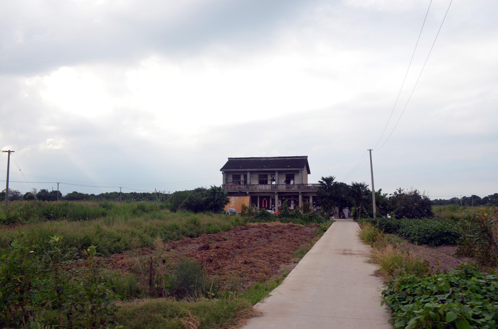 远景多角度太仓海天禅寺红庙的宏伟和江南缥缈正在建设的后殿 这里是太仓 摄影 第3张