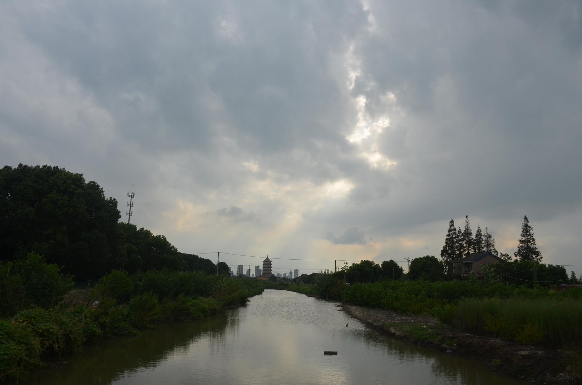 远景多角度太仓海天禅寺红庙的宏伟和江南缥缈正在建设的后殿 这里是太仓 摄影 第21张