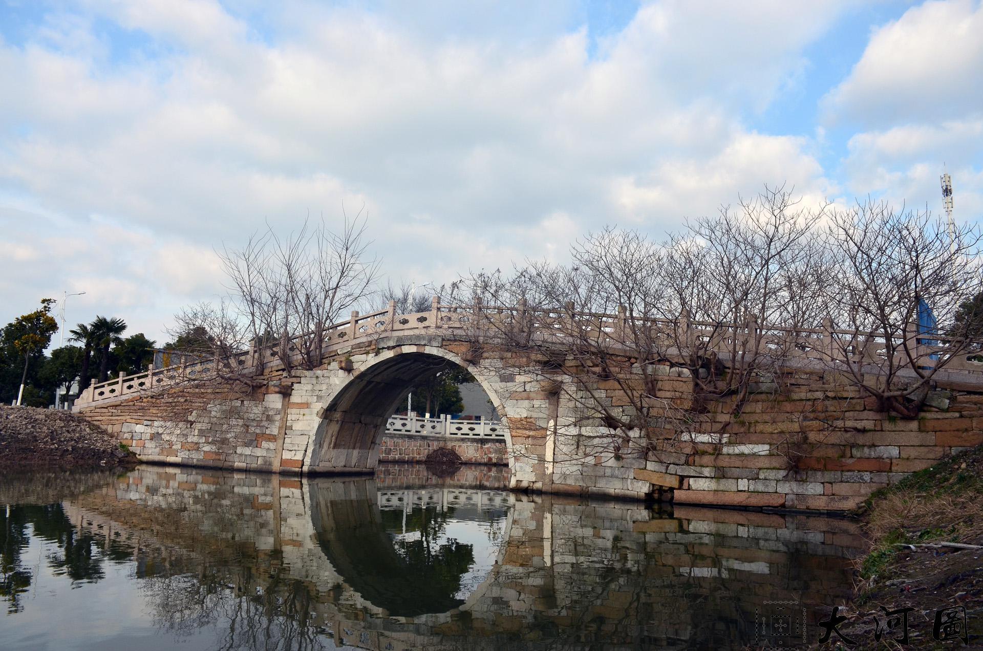 太仓流顺桥位于城厢镇东仓路最北路西侧