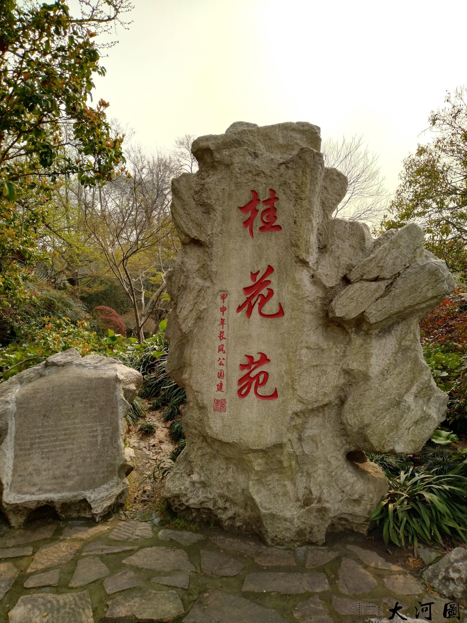 上海长风公园初春之景色幽暗灰沉 摄影 第14张