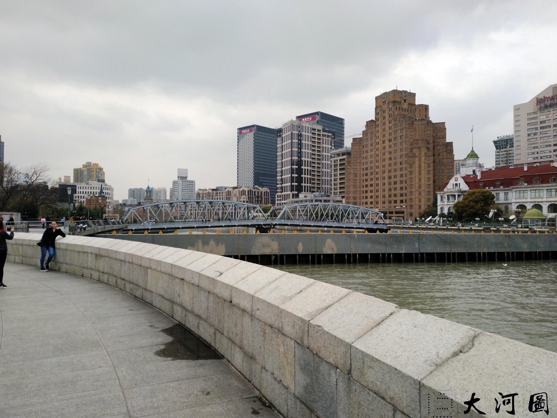 上海外白渡桥英文名称花园桥Garden Bridge of Shanghai 沧桑走过 摄影 第2张