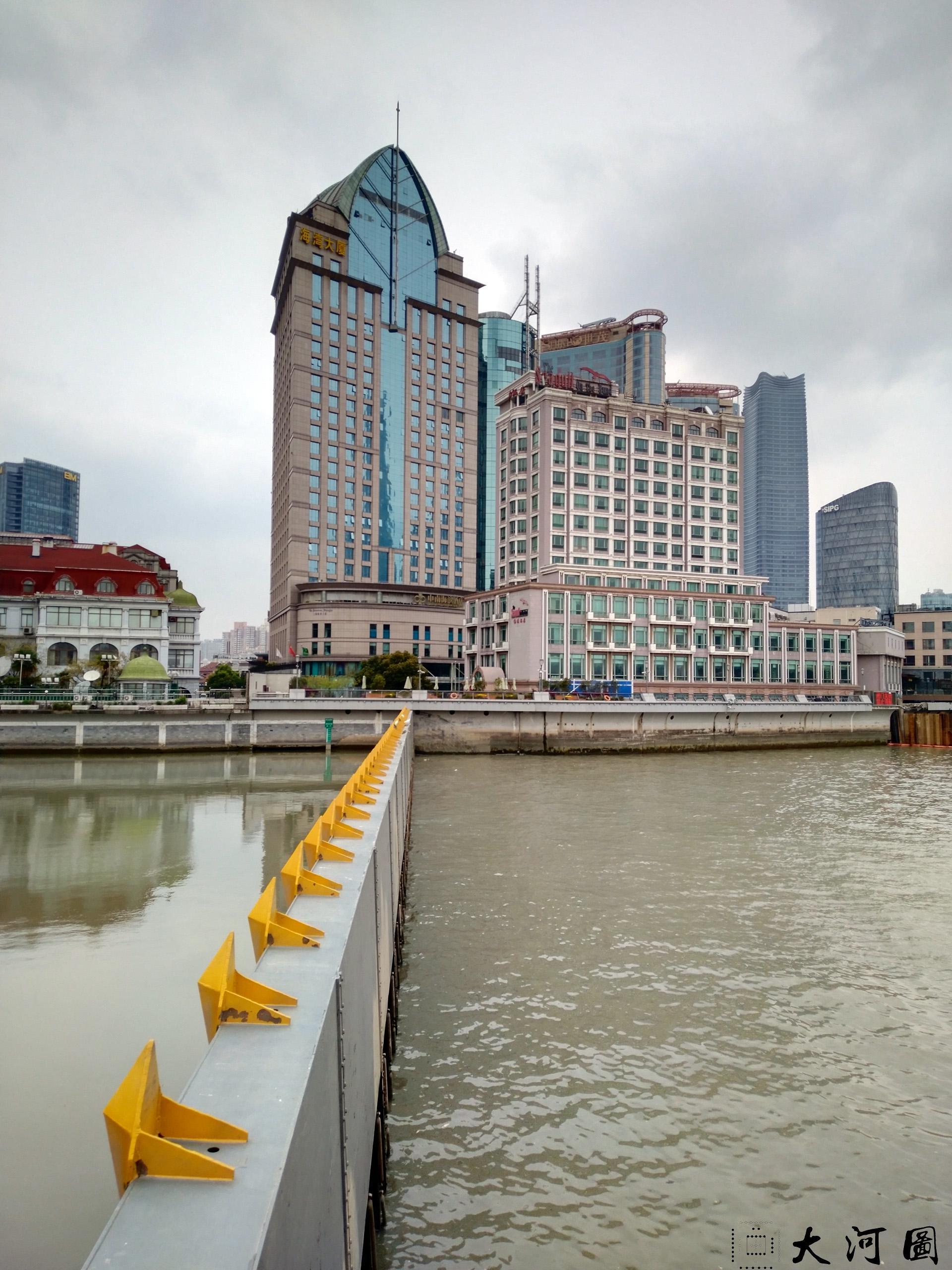 上海外白渡桥英文名称花园桥Garden Bridge of Shanghai 沧桑走过 摄影 第3张