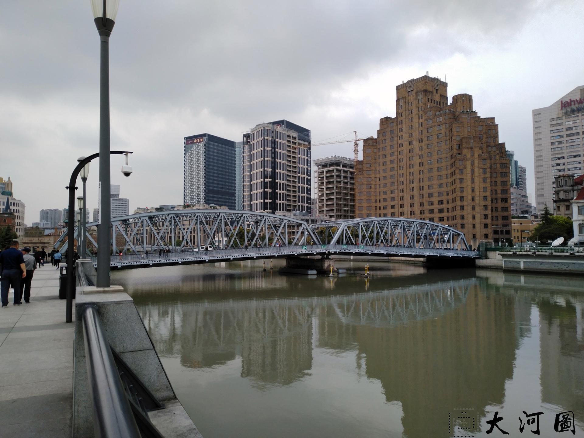 上海外白渡桥英文名称花园桥Garden Bridge of Shanghai 沧桑走过
