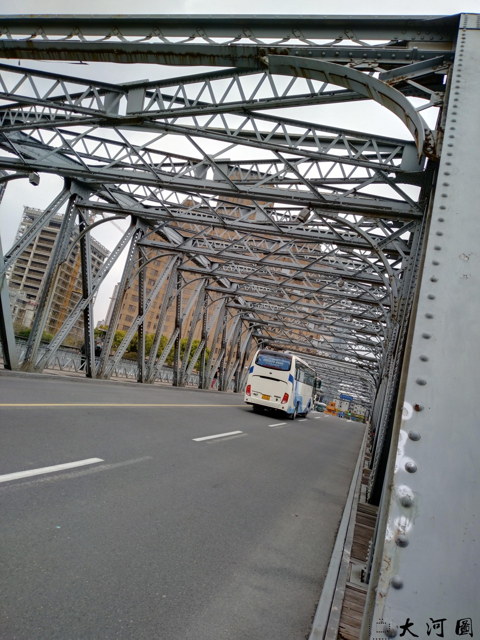 上海外白渡桥英文名称花园桥Garden Bridge of Shanghai 沧桑走过 摄影 第10张