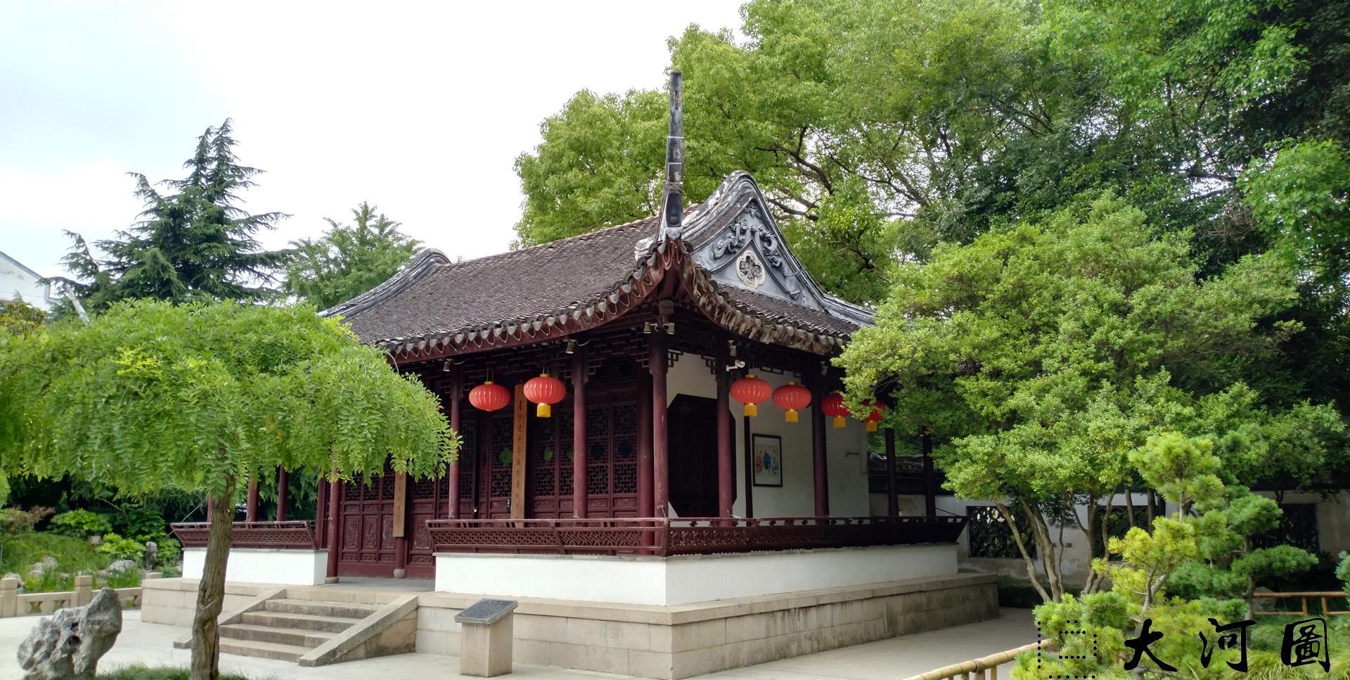 太仓弇山园石刻书法碑 石狮子 墨妙亭 这里是太仓 摄影 第10张