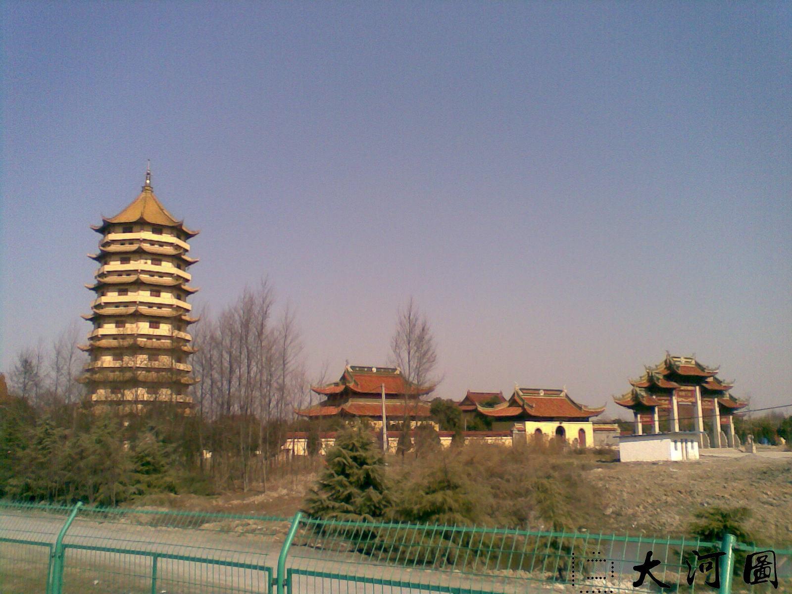 2009年的海天禅寺 沧桑萧索