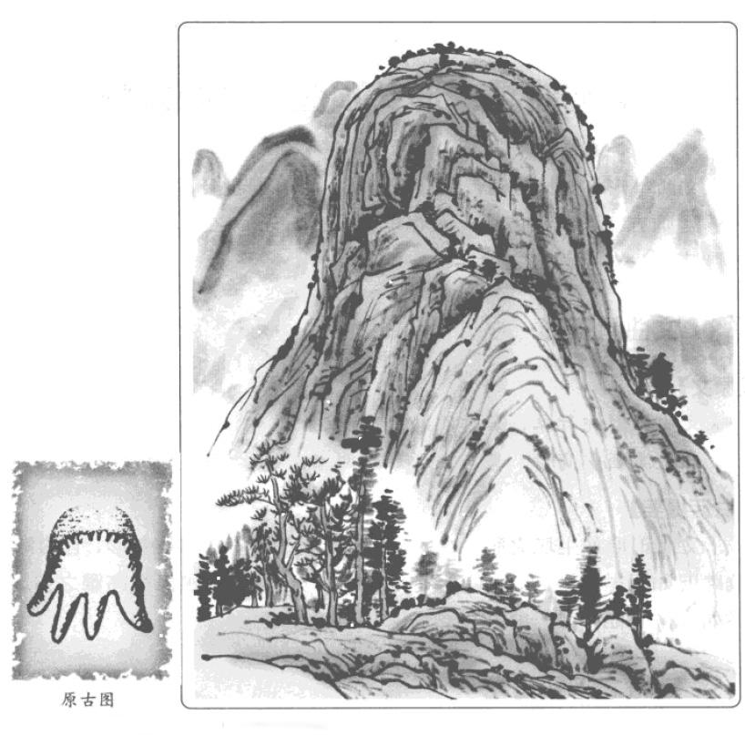 禄存星峰的九种形态吉凶 平洋寻找禄存星峰 寻找禄存的龙
