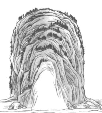 武曲星峰与左辅星峰的区别 覆钟釡 高圆顶 左辅顶圆略低方